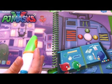 PJ Masks Magic Talking Book - Foil Romeo's Robot Plan!