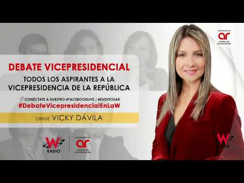 El Debate Definitivo de Vicepresidentes en W Radio