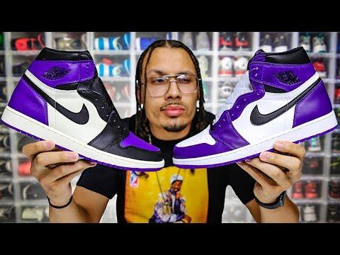 Air Jordan 1 Court Purple 2.0 Good As 1.0? (Full Review)