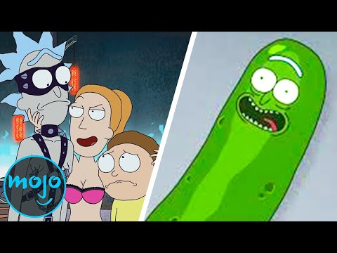 Top 10 Insane Things That Happened on Rick and Morty