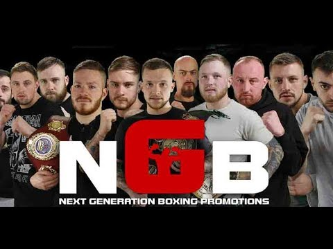 NGB Next Generation Boxing Promotions - Ben Greenwood Vs Paul Walker