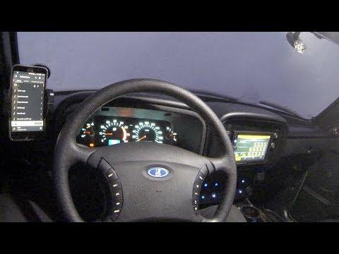 Установка кнопок управления мультимедиа на руль LADA