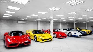 $10M ★ Celebrity Hypercar Collection.★ Daily drives - MUST WATCH 2018