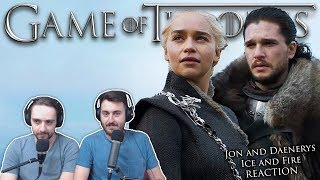 """Jon and Daenerys: Ice and Fire"" - Game of Thrones Reaction"
