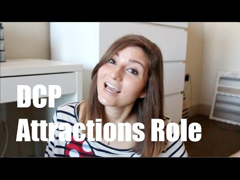 DCP Attractions Role (In Depth)