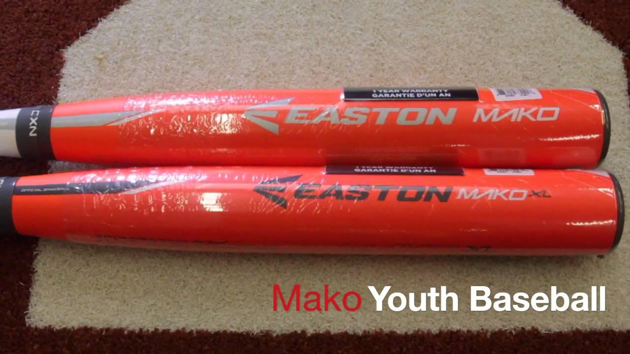 Easton Mako Youth Baseball Bats | Building Materials Bargain