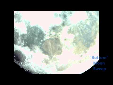 Moon Imaging with Reflector Telescope and Modified Video Camera