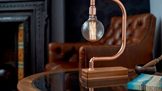 Handmade Copper Desk Lamp D Light