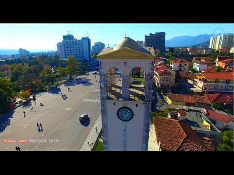 Elbasan,Albania From SKY - DRONE View - Full HD