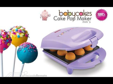 Máquina Para Hacer Mini Pop Cakes Babycakes Pop Maker Cpm 20 Apreciosderemate