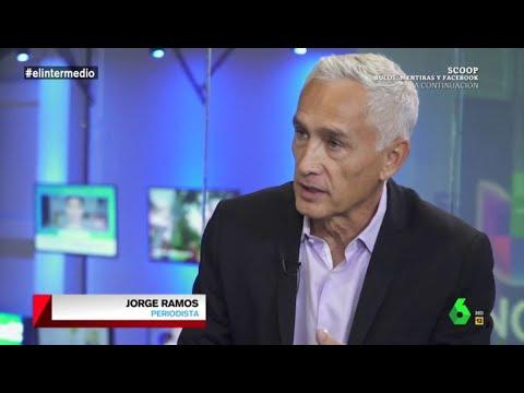 Jorge Ramos analiza con Guillermo Fesser la crisis migratoria en la era Trump
