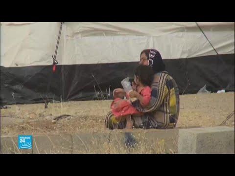 تنامي حركة نزوح أكراد كركوك على خلفية التوتر بين بغداد وإربيل  - نشر قبل 3 ساعة