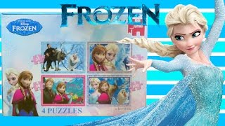 Disney Frozen 4-in-1 Jigsaw Puzzle Review
