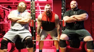RACK PULLS WITH WORLDS BEST DEADLIFTER | EDDIE HALL | ROBERT OBERST