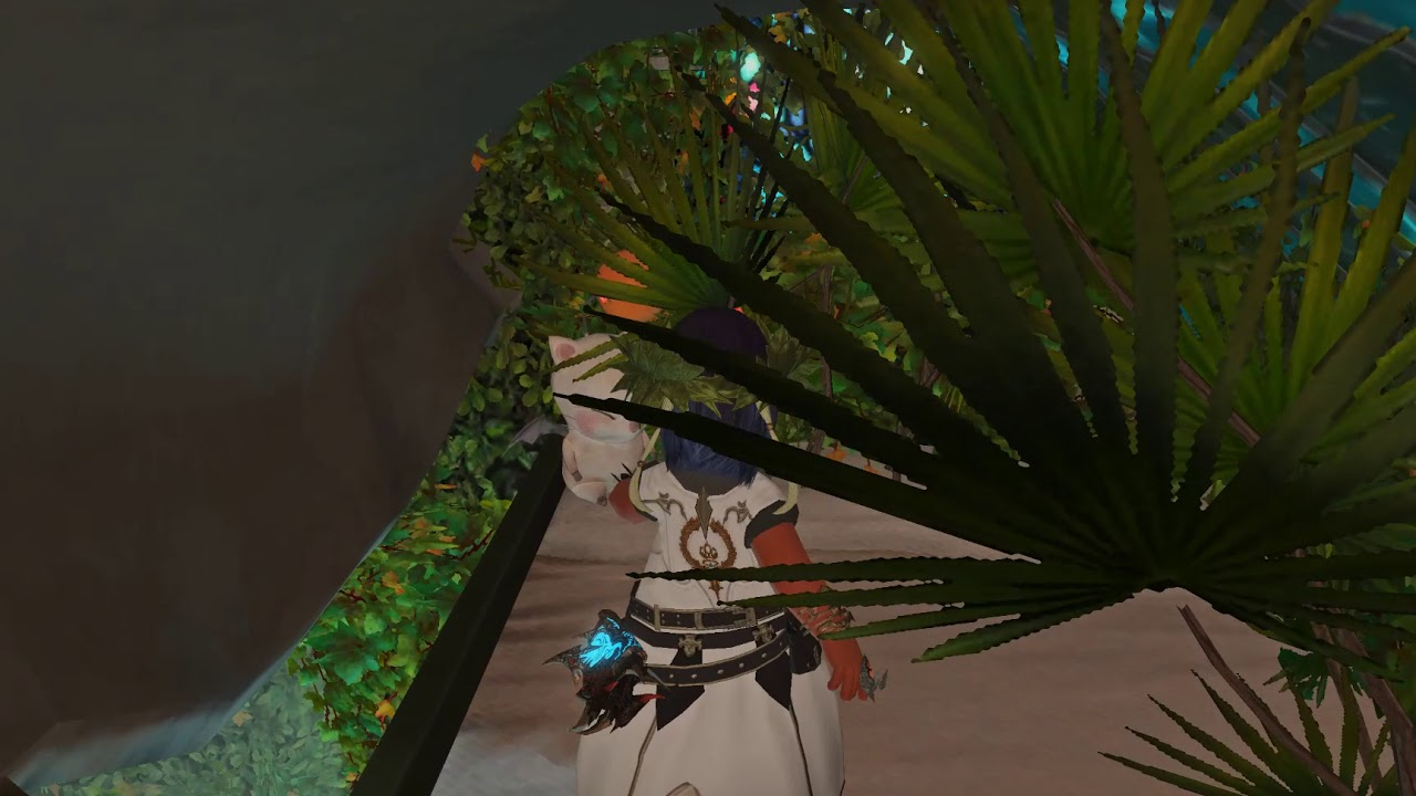 FFXIV Housing - Pappa Smurf's Magical Forest