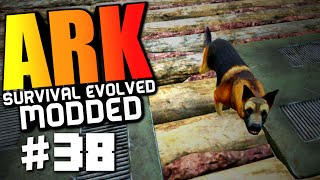 "Ark Modded #38 ""Dino Breeding Room, Incubation Room, Dog Companion Mod"" Ark Survival Evolved"