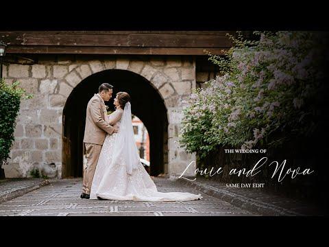 Louie and Nova | On Site Wedding Film by Nice Print Photography