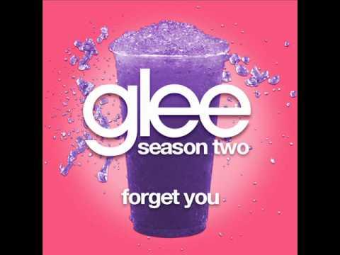 Glee - Forget You [LYRICS]