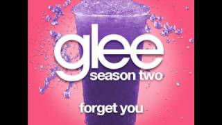 Glee - Forget You [LYRICS]