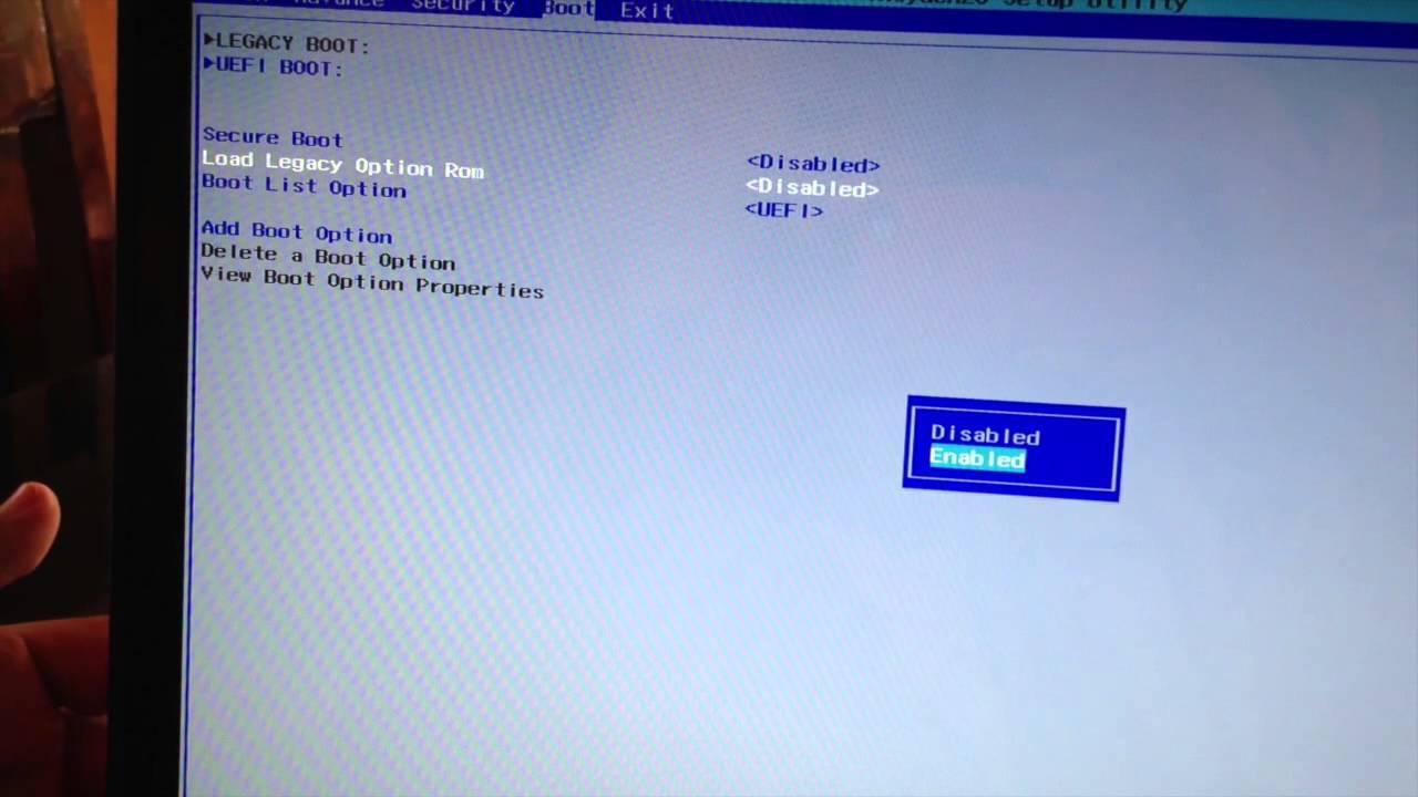 Como Desactivar Uefi En Laptop Dell Youtube
