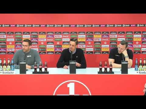 LIVE: Pressekonferenz nach dem Heimspiel gegen den SC Preußen Münster
