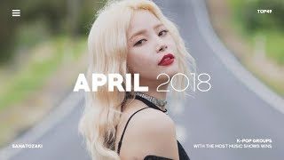 K-POP GROUPS WITH MOST MUSIC SHOW WINS | April 2018 - Stafaband