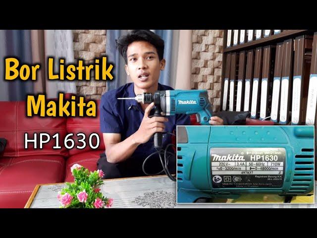REVIEW BOR LISTRIK MAKITA HP 1630 | BISA UNTUK BESI, BETON DAN KAYU