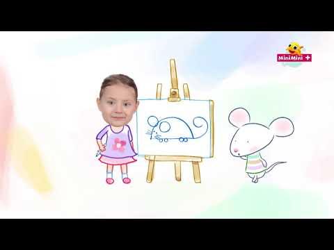 Rysuj z Myszką w paski | rysujemy myszkę | MiniMini+