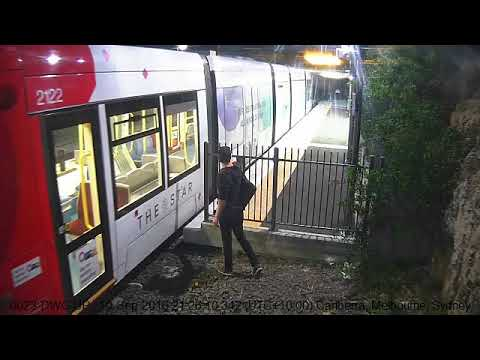 Thumbnail: Man Runs in Front of Train, Nearly Hit at Dulwich Grove