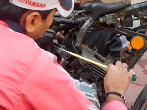 RXG 135 Engine Head rebuild