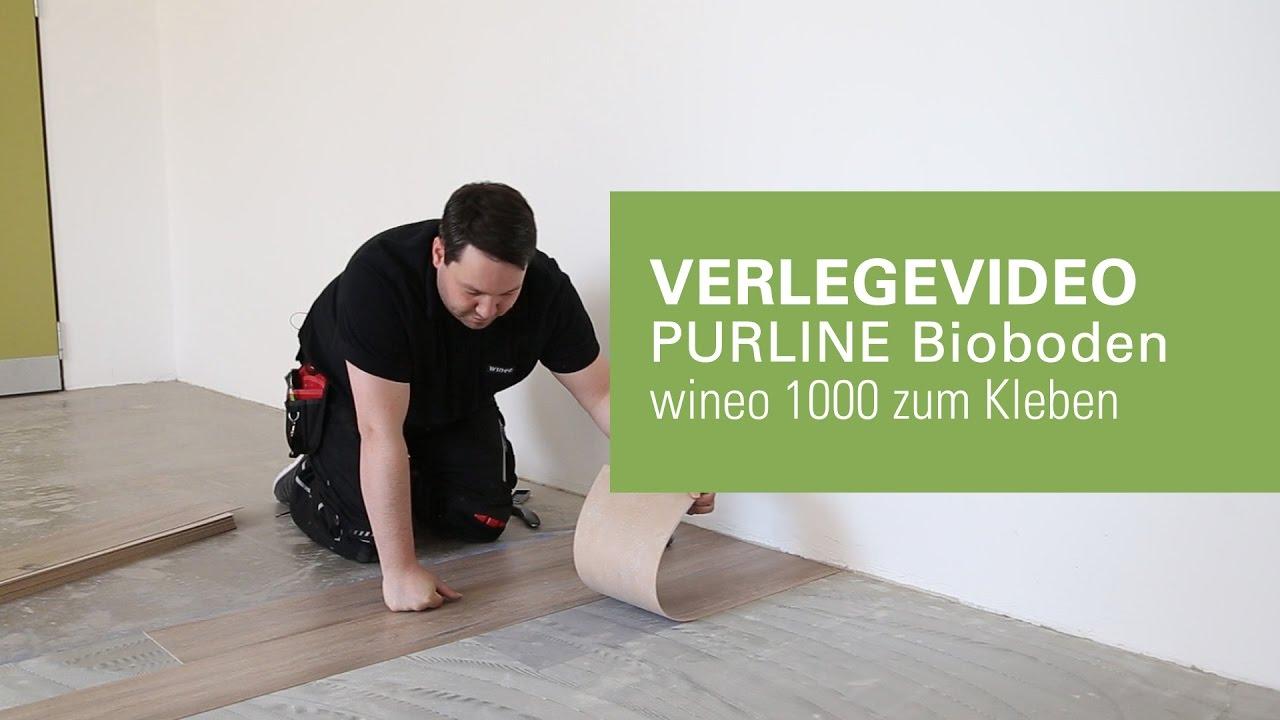 Cool wineo PURLINE Bioboden auf Untergrund verkleben - YouTube QV67