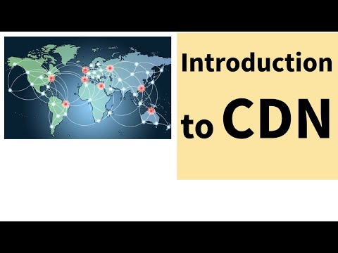 Introduction to what is CDN : Content Distribution Network.