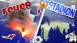 SCHLÄGEREI in der BAHN !👊🏼|Stadion Vlog | Marlon