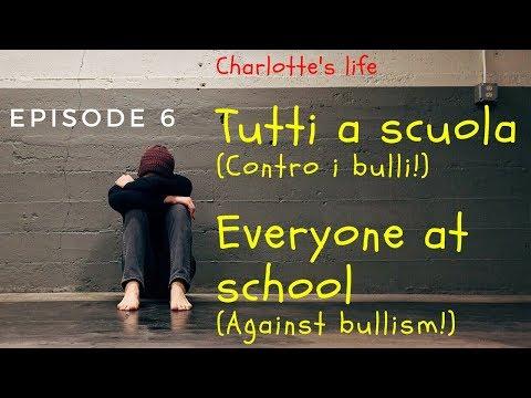 Barbie Charlotte's Life  Tutti a scuola contro i bulli!   Everyone at school Against bullism!