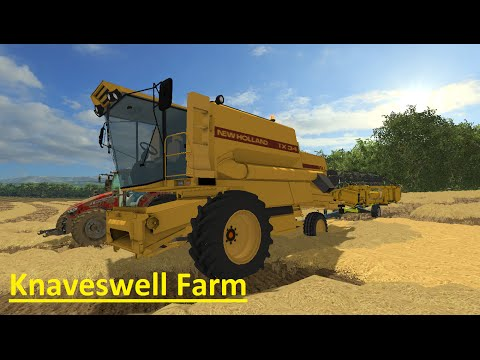 Lets Play - Knaveswell farm - part 6 - Carry on with silage