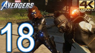 Marvel's AVENGERS PC 4K Walkthrough - Part 18 - Quick Play