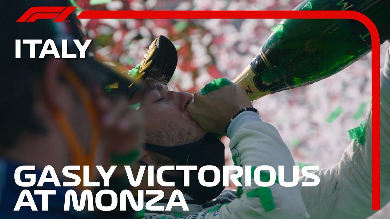 Italian Grand Prix 2020 race report and highlights: Gasly beats Sainz ...