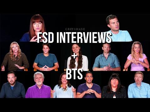 Fifty Shades Darker interviews  + BTS