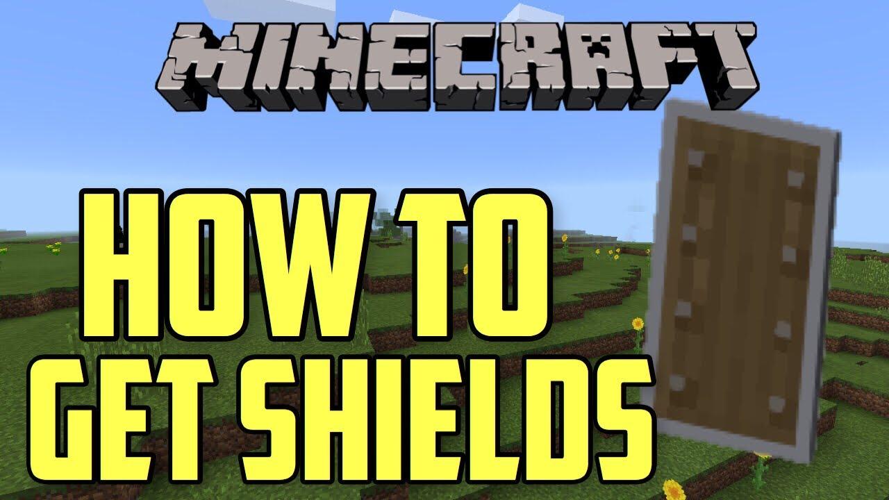 Minecraft Xbox/PE How To Get Shields!