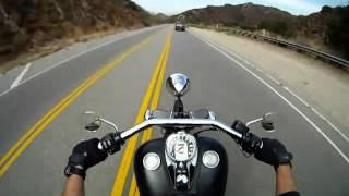 Мотоцикл Harley Davidson Камера от первого лица