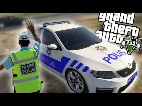TÜRK TRAFİK POLİSİ MODU! - GTA V Modları