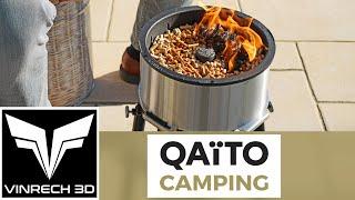 QAÏTO Camping ! Brasero & BBQ par excellence ! - VINRECH PRODUCTION