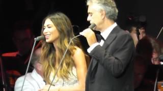 Andrea Bocelli Nicole Scherzinger Canto Della Terra 2016