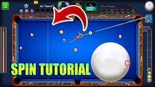 8 Ball Pool SPIN TUTORIAL How To Use Spin THIS WILL CHANGE THE WAY YOU PLAY