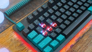 This is LEGIT. Razer Huntsman TE Keyboard Review
