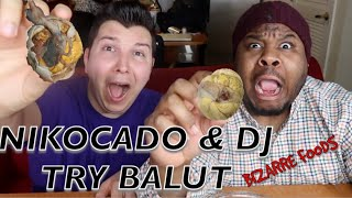 BIZARRE FOODS- FIRST TIME TRYING BALUT EGG ( CHICKEN EMBRYO)