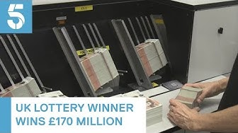 Lucky UK ticket holder wins £170 million Euromillions jackpot | 5 News