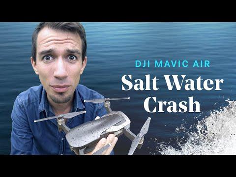 Can a Mavic DRONE survive A SALT WATER CRASH 💦?