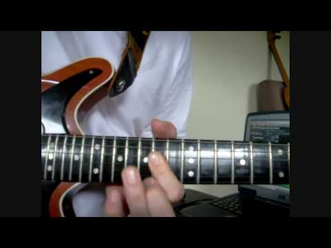 Queen -'We Will Rock You' - guitar lesson/tutorial How to play the solo correctly ;-)