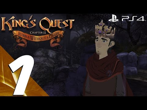 King's Quest Chapter 2 Rubble Without A Cause - Full Game Walkthrough - Everyone Saved
